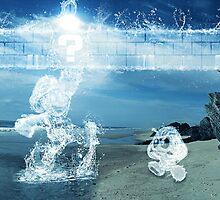 Water Mario by TylerReitanArt