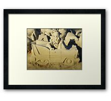 Sand Is The New Snow ! Framed Print
