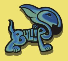 Bullies Letter Character Turquoise and Blue Kids Clothes