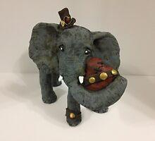 Steam Punk Elephant by Lilydee