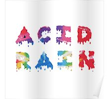 Acid Rain, chance the rapper Poster