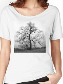 WINTER PRINCESS TREE Women's Relaxed Fit T-Shirt