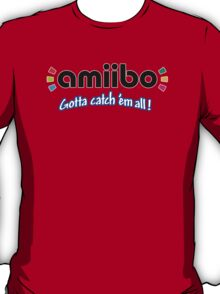 Amiibo - Gotta Catch 'em All T-Shirt