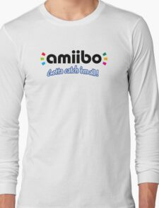 Amiibo - Gotta Catch 'em All Long Sleeve T-Shirt