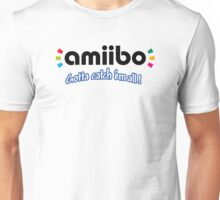 Amiibo - Gotta Catch 'em All Unisex T-Shirt