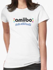 Amiibo - Gotta Catch 'em All Womens Fitted T-Shirt