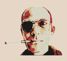 Hunter S. Thompson by ianscott76