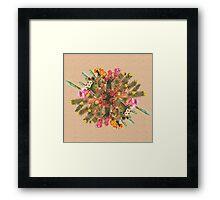 Cactus Planet Framed Print