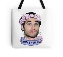 Darren Criss Dumb Human Tote Bag