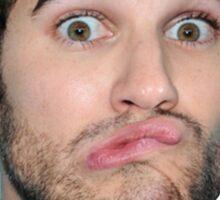 Darren Criss Dumb Human Sticker