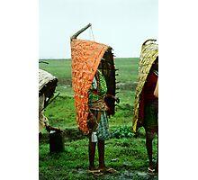 Tribal Rain-coat Photographic Print
