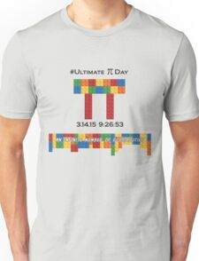 Ultimate Pi Day:  Infinite Number of Possibilities Unisex T-Shirt