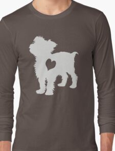 Adore Yorkies: Version Two Long Sleeve T-Shirt