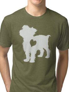 Adore Yorkies: Version Two Tri-blend T-Shirt