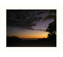 Dawn At Monkey Mia Art Print