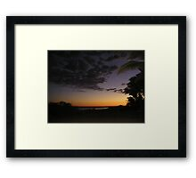 Dawn At Monkey Mia Framed Print