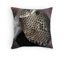 Bee Gone Throw Pillow