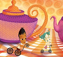 Teapot Land 3.1 by Wendy Tyrer