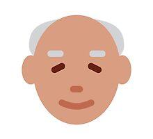 Older Man Twitter Emoji by emoji
