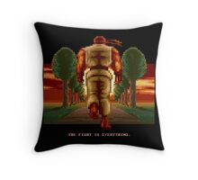 RYU Street Fighter II: The Fight is everything. Throw Pillow