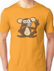 Crazy Monkey Tee (Fur) Unisex T-Shirt