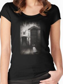 Lonely Shirt Women's Fitted Scoop T-Shirt