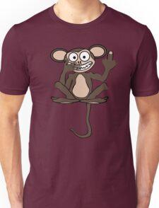 Crazy Monkey (Tail + Furless) Unisex T-Shirt