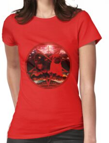 red pugtagram Womens Fitted T-Shirt