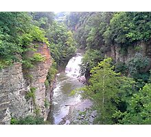 ITHACAS FALL CREEK GORGE  Photographic Print