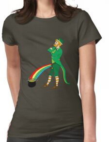 The End of the Rainbow Womens Fitted T-Shirt