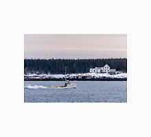 New England Lobster Boat Heading Home  Unisex T-Shirt