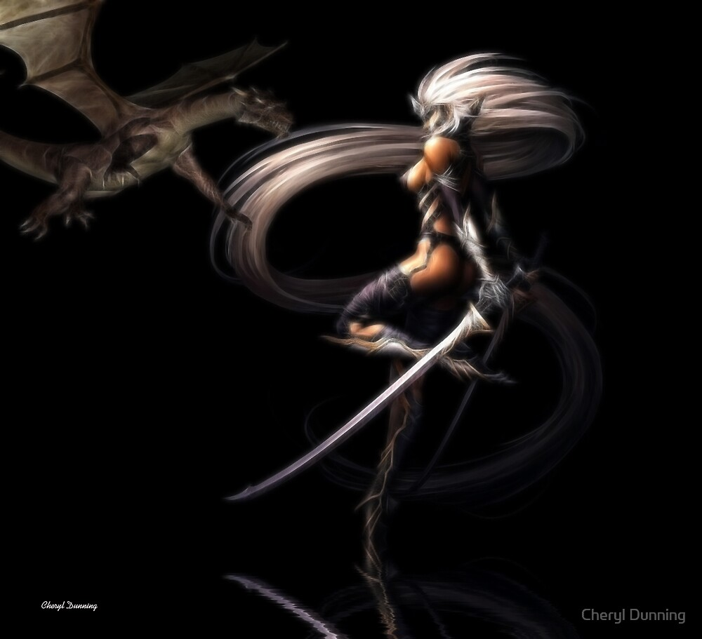 dragon slayer by Cheryl Dunning
