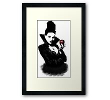 It's Not Just An Apple, It's A Weapon Framed Print