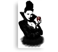 It's Not Just An Apple, It's A Weapon Canvas Print