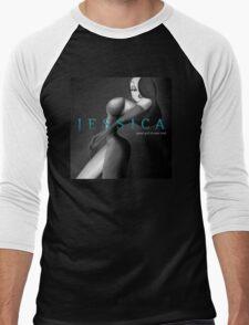 Jessica: Good Girl Drawn Bad Men's Baseball ¾ T-Shirt