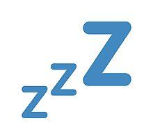 Sleeping Symbol Twitter Emoji by emoji