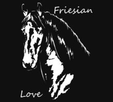 Friesian Love by SilverfoxxArt