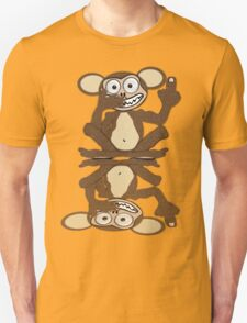 Monkey See Monkey Do Tee (Fur) T-Shirt