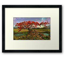 Strontium Tree Framed Print