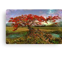 Strontium Tree Canvas Print