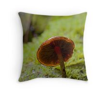 Forest Glowth Throw Pillow