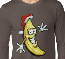 Merry Christmas Banana Happy New Year Long Sleeve T-Shirt