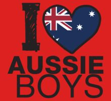 I Heart Aussie Boys Kids Clothes