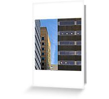 City Cubes Greeting Card