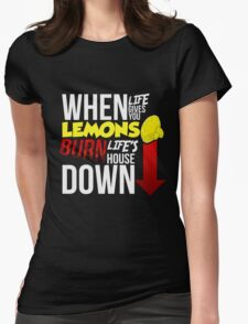 When Life Gives You Lemmons Womens Fitted T-Shirt