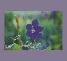 Purple Flower Kids Clothes