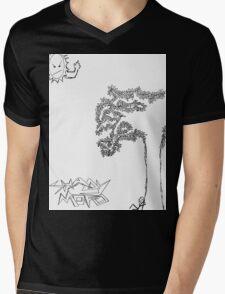 Shady Mofo Logo Mens V-Neck T-Shirt
