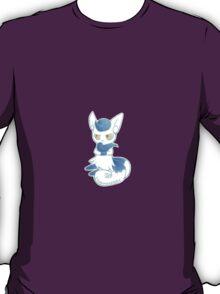 Blue Meow girl T-Shirt