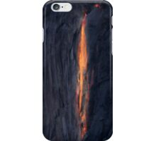 Sunset on Horsetail Fall iPhone Case/Skin