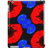 Floral stamp iPad Case/Skin